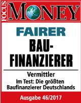 Baufi24 - fairer Baufinanziererungsvermittler laut Focus Money