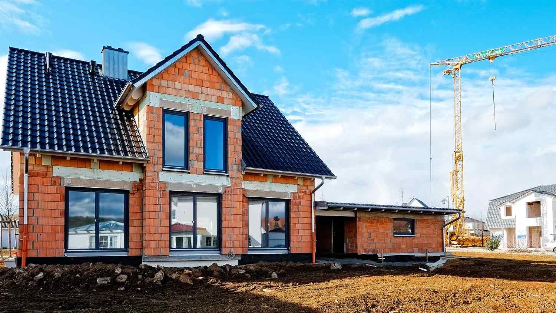 Hausbau: Private Bauhelfer-Unfallversicherung